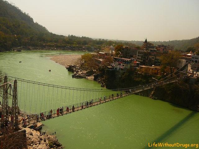 Ришикеш, Индия, река Ганга