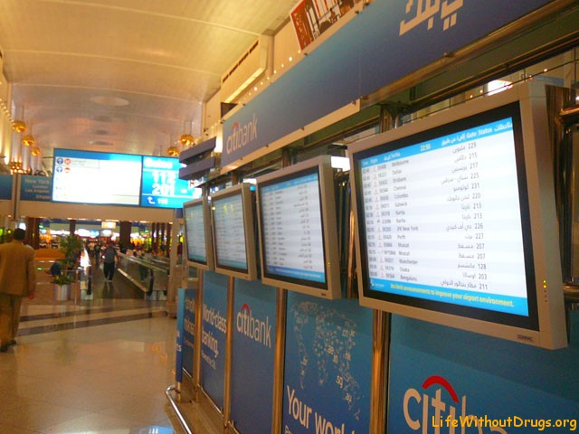 Аэропорт Дубай длительный транзит