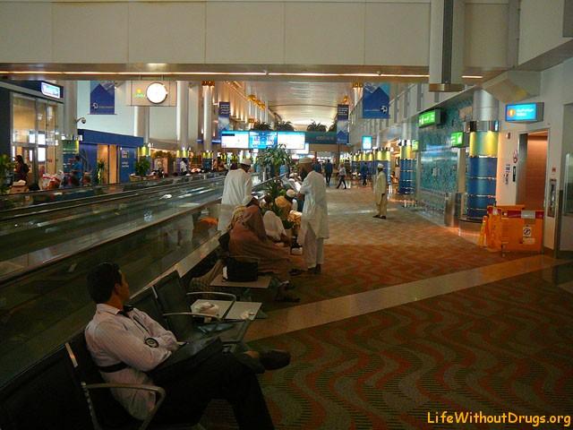 Аэропорт Дубай, ОАЭ, Западная Азия