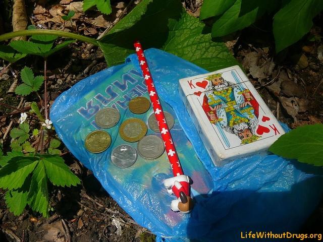 Игра - поиск кладов и тайников