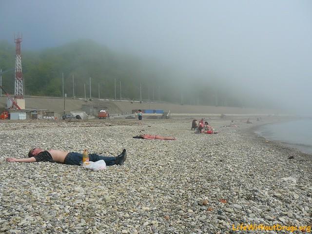 Пляжи черноморского побережья, Кавказ