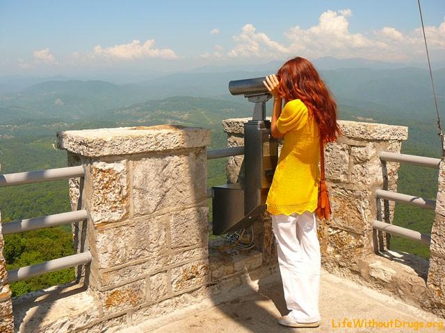 Что посмотреть в Сочи? Гора Ахун - лучшая смотровая площадка!