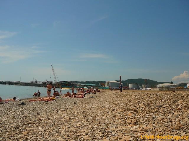 Пляжи Туапсе, Черное море