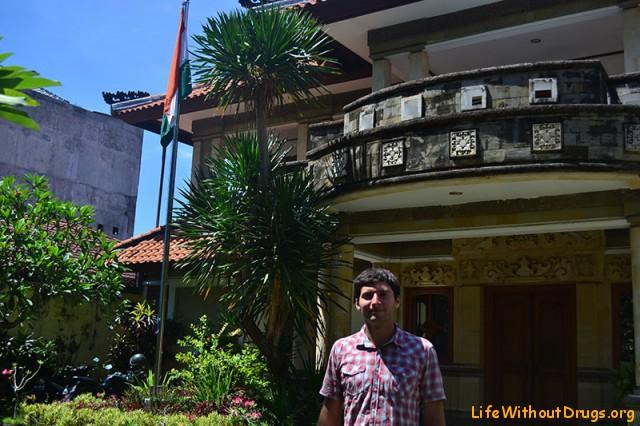 получение индийской визы на Бали