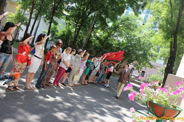 Театрализованная экскурсия по советским местам Москвы