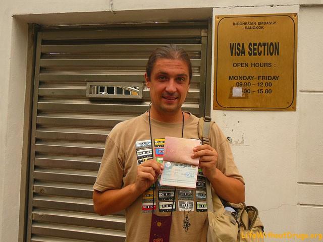 Как получить визу в Индонезию в Бангкоке?