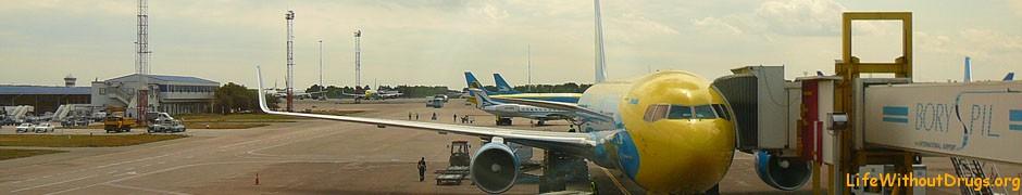 перелет Москва-Киев-Бангкок