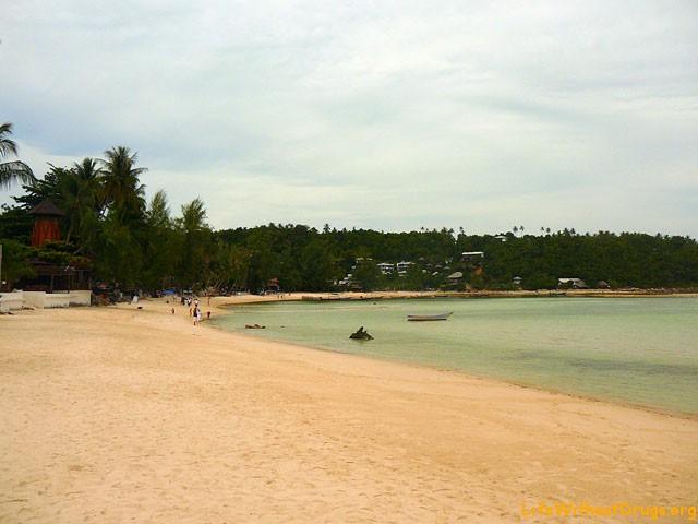 пляж Салад, остров Панган, Таиланд