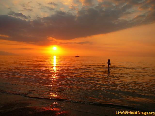 Закаты солнца, Бали