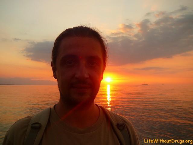 Закаты и рассвета в Индонезии