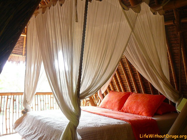 Вариант дома в Убуде - спальня