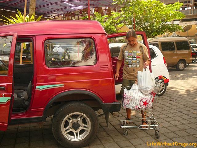 Продукты на Бали