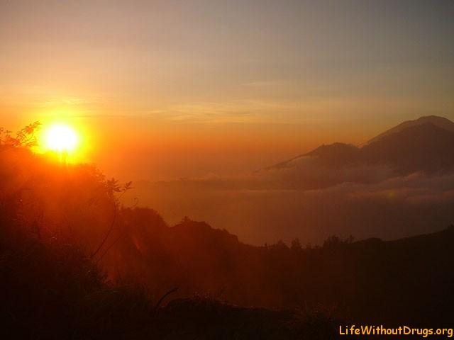 Горы и вулканы Бали - Gunung Batur