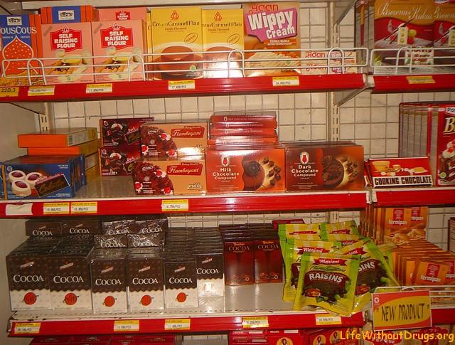 Супермаркеты, продукты, цены на Бали