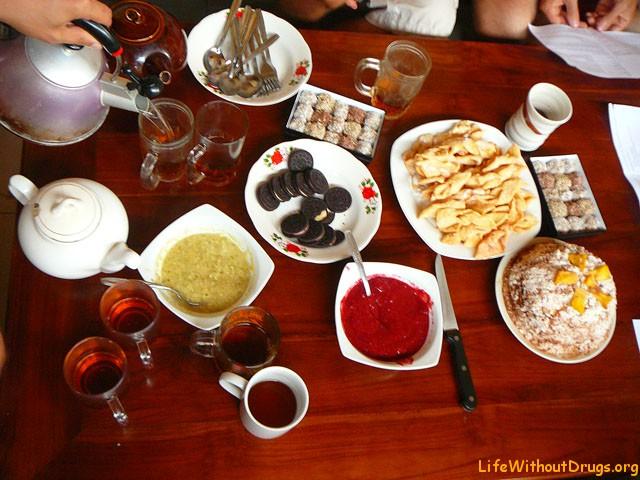 Как приготовить сладости на Бали?