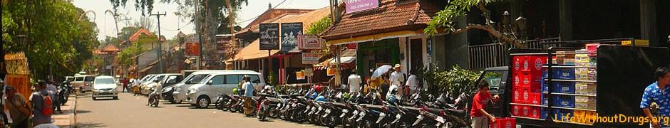 Аренда транспорта и дороги на Бали