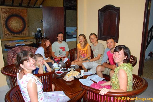Сладости на Бали