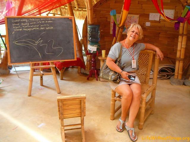 Зеленая школа, Бали, учеба