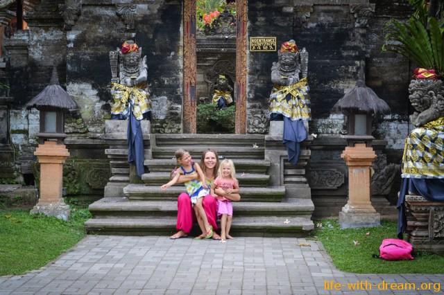 Убуд - любимый городок Бали