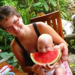 Лера, беременность, арт-терапия и путешествие с детьми
