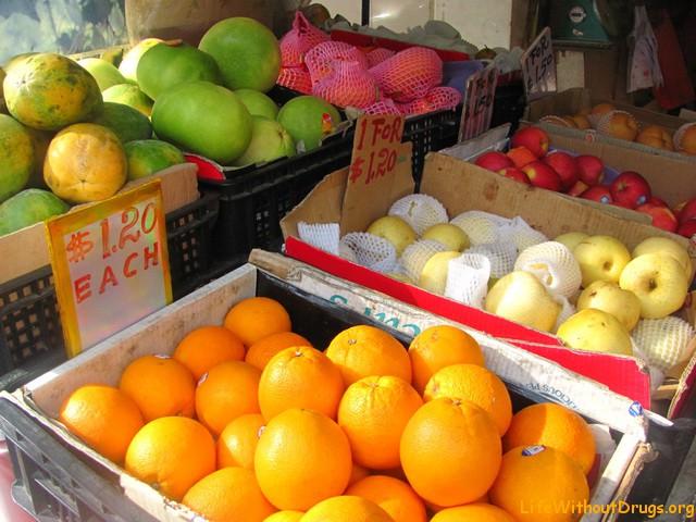 Цены на фрукты в Сингапуре