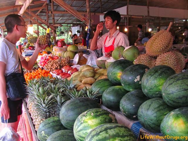 Фрукты в Ао Нанге