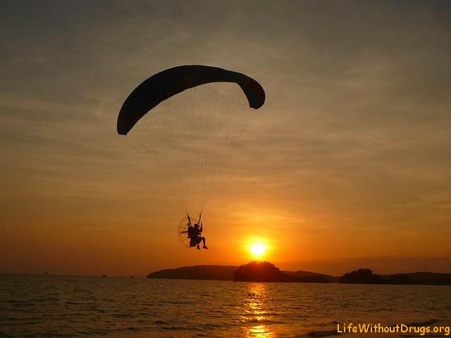 Японский парашутист