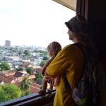 Первое знакомство Ярославы с мегаполисом. Мы приехали в Бангкок.
