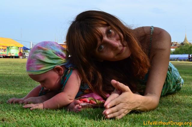 Мы с дочкой на королевских полях