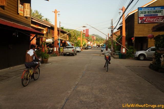 Старый город на острове Ко Ланта