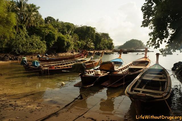 Лодки морских цыган