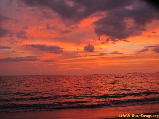Волшебные закаты на Ланте