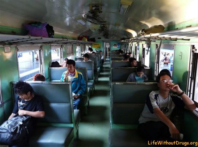 Расположение мест в вагонах - Магистраль