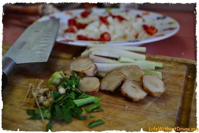 Рецепт супа Том Ям