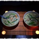 Рецепты тайской кухни.  Вегетарианский Грин Карри.