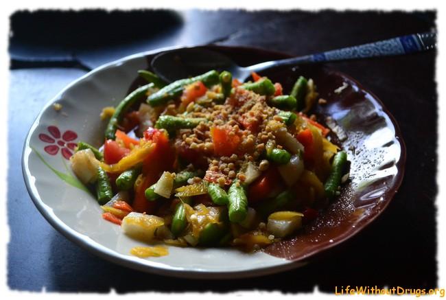 Тайская кухня. Рецепт салата из манго