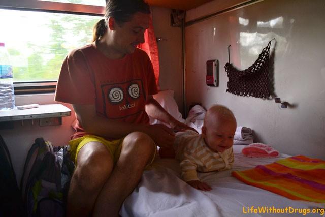 С грудным ребенком в поезде дальнего следования