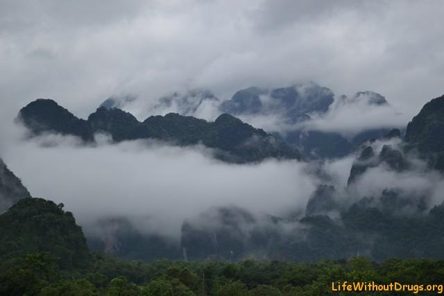 Лаос. Ванг Виенг