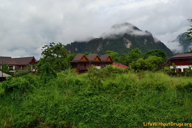 Лаос, Ванг Вьенг.