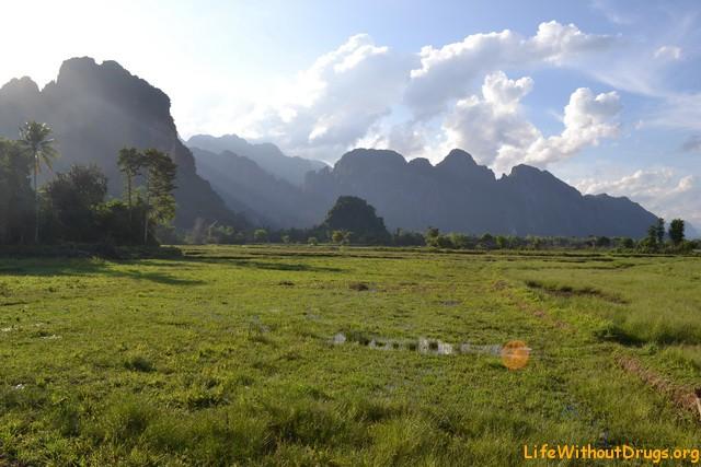 Лаос, Ванг Виенг.