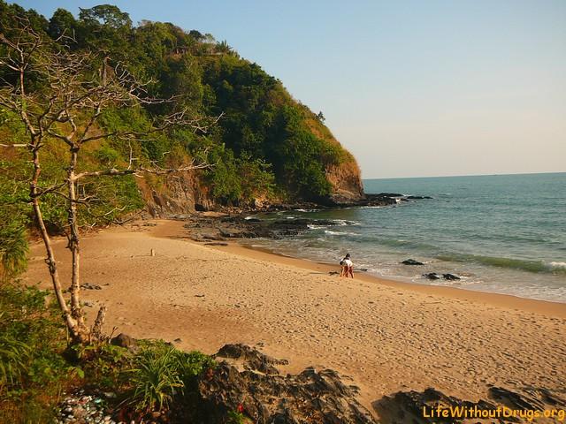 Пляжи на Ко Ланте