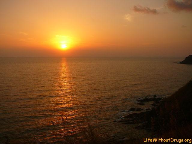 Закаты на острове Ко Ланта