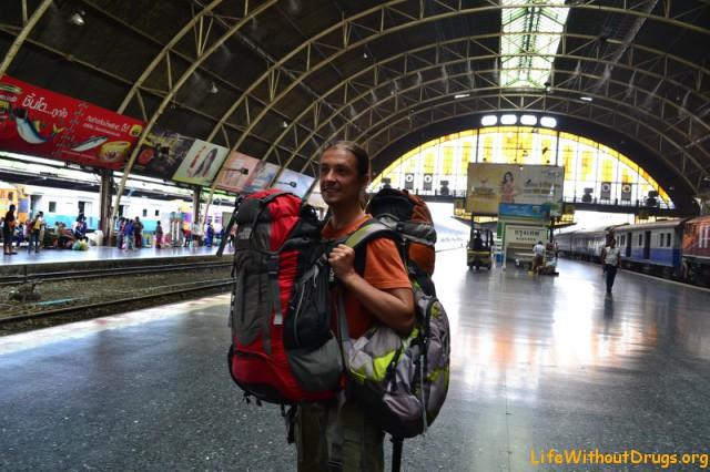 С маленьким ребенком на поезде в Таиланде