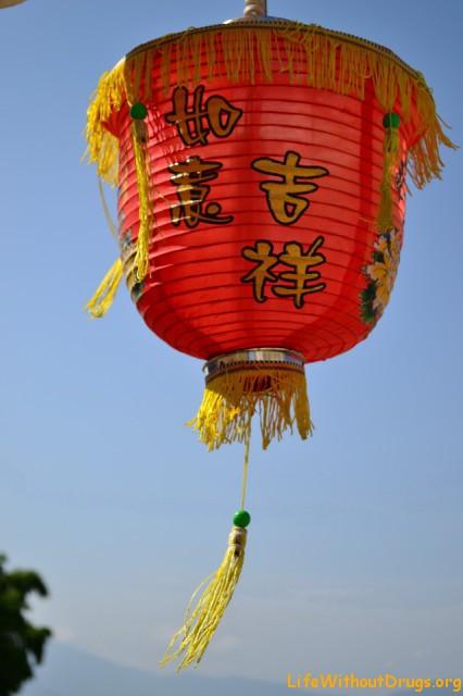 Китайский фонарик из Пая