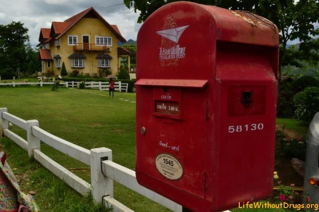 Почтовый ящик в Пае
