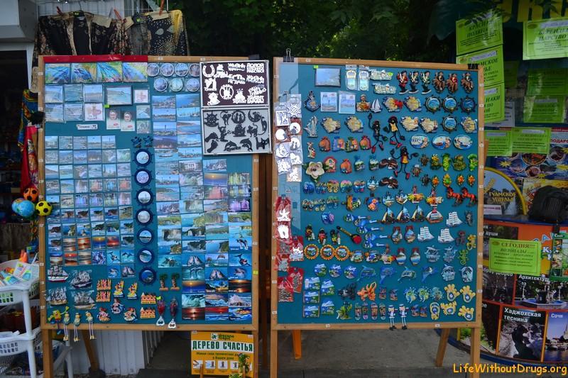 сувениры с моря фото