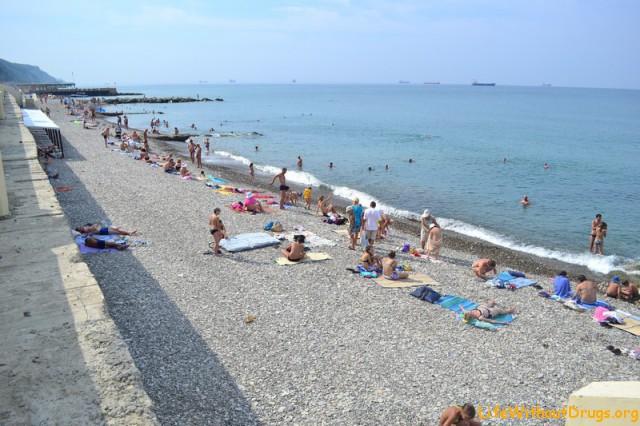 пляжи Черного моря