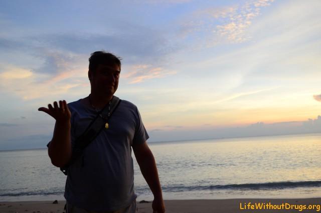 наш читатель Иван из Ярославля, тоже встречал закаты с нами