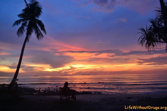 Волшебные закаты острова Ко Ланта