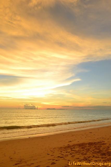 История одного заката на острове Ко Ланта